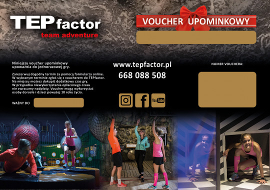 Voucher upominkowy do TEPfactor